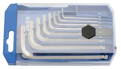 Set chei locas hexagonal cu cap sferic 8 pcs Unior - Scule Auto Unior Tepid