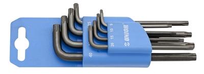 Set chei locas cu profil TXP in suport de plastic Unior - Scule Auto Unior Tepid